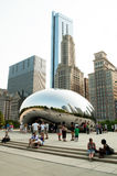 chicago Cloud Gate or the bean Stock Photo