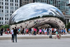 Chicago - Cloud Gate Royalty Free Stock Photography