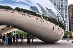 Chicago - Cloud Gate Royalty Free Stock Photo