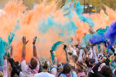 Chicago Color Run Stock Images