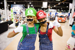Chicago Comic Con 2012 royalty free stock photography