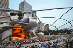 Chicago Concert Royalty Free Stock Photography