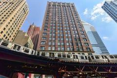 Chicago CTA Subway Loop Royalty Free Stock Image