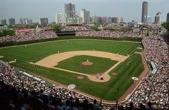 chicago cubs поле wrigley Стоковая Фотография