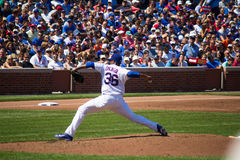 Chicago Cubs - Edwin Jackson Royalty Free Stock Image