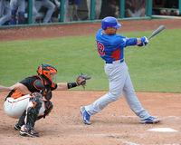 Chicago Cubs Outfielder #18 Geovany Soto Royalty Free Stock Images