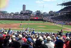 Chicago cubs Royalty Free Stock Photography