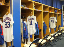 Chicago cubs players room Stock Photography