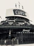 Chicago Cubs-Stadion Lizenzfreie Stockfotos