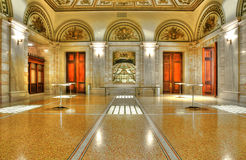 Chicago cultural center stock photography