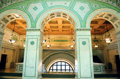 Chicago Cultural Center i Royalty Free Stock Images