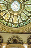 Chicago Cultural Center interior royalty free stock images