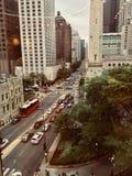 Chicago da baixa imagens de stock royalty free