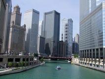 Chicago. Da baixa Imagem de Stock Royalty Free