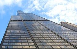 chicago dachu wierza uic widok willis fotografia stock