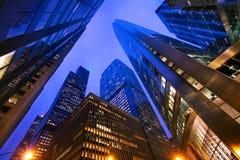 Chicago, das oben schaut Stockfotos