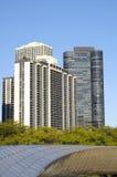 Chicago, de Brug van BP Stock Foto's