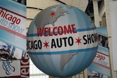 Feira automóvel de Chicago Imagem de Stock