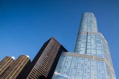 CHICAGO - 11 DE JUNIO: La torre del triunfo el 11 de junio de 2013 en Chicago. Imagen de archivo libre de regalías