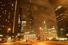 Chicago de stad in Royalty-vrije Stock Fotografie