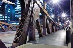 Chicago de stad in Stock Afbeeldingen