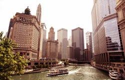 Chicago, de V.S. Stock Afbeeldingen