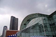 Chicago - de Voorzijde van de Pijler van de Marine Stock Foto