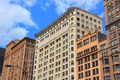Chicago Dearborn gata arkivfoton