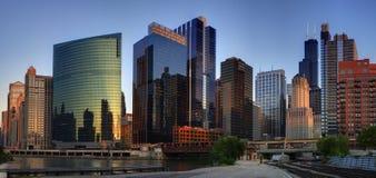 Chicago del centro Immagine Stock Libera da Diritti