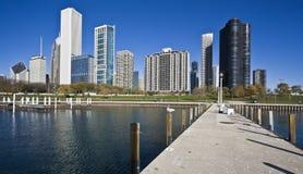 Chicago del lago Foto de archivo libre de regalías