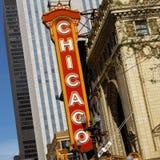 Chicago - distrito del teatro - los E.E.U.U.