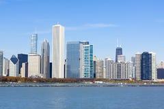 Chicago do centro Fotos de Stock Royalty Free