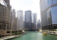 Chicago do centro fotografia de stock royalty free
