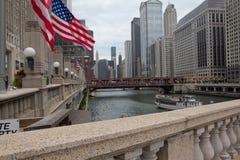 Chicago do centro Fotografia de Stock