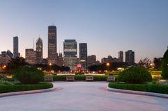 chicago dotaci park fotografia royalty free