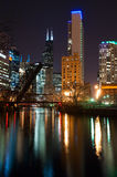 Chicago downtown Royalty Free Stock Photos