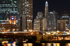 Chicago downtown. Royalty Free Stock Photography