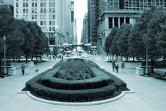 Chicago downtown Stock Photography