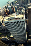 Chicago downtown. Building from above in chicago Stock Photo