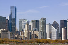 Chicago Downtown Royalty Free Stock Photo