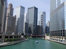 Chicago. Downtown Royalty Free Stock Image