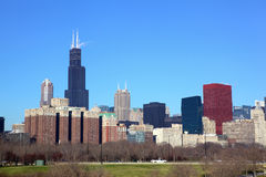 Chicago downtown Royalty Free Stock Images
