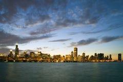 chicago downtown στοκ φωτογραφίες