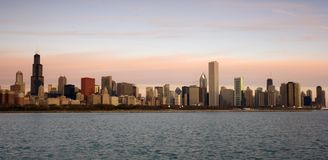 chicago downtown Στοκ Φωτογραφία