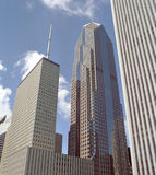Downtown Buildings Chicago Illinois USA Royalty Free Stock Photo