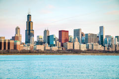 Chicago downtown cityscape Stock Image