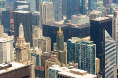 Chicago downtown closeup Stock Photography