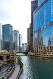Chicago downtown in Illinois, USA Royalty Free Stock Photo