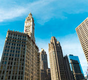 Chicago downtown in Illinois, USA Royalty Free Stock Photos