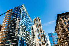 Chicago downtown in Illinois, USA Stock Image